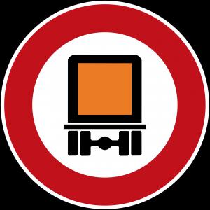 Stickers discs speed limit 80 red edge